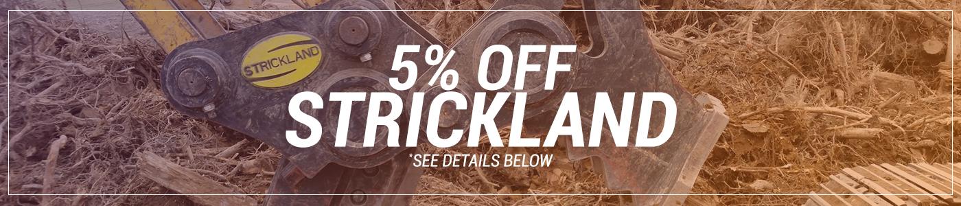5% OFF Strickland Attachments
